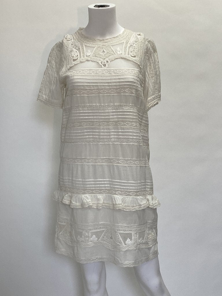 SEA Aster Short Sleeve Tunic Dress