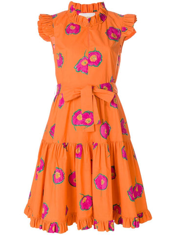 La Doublej Floral Ruffle Dress