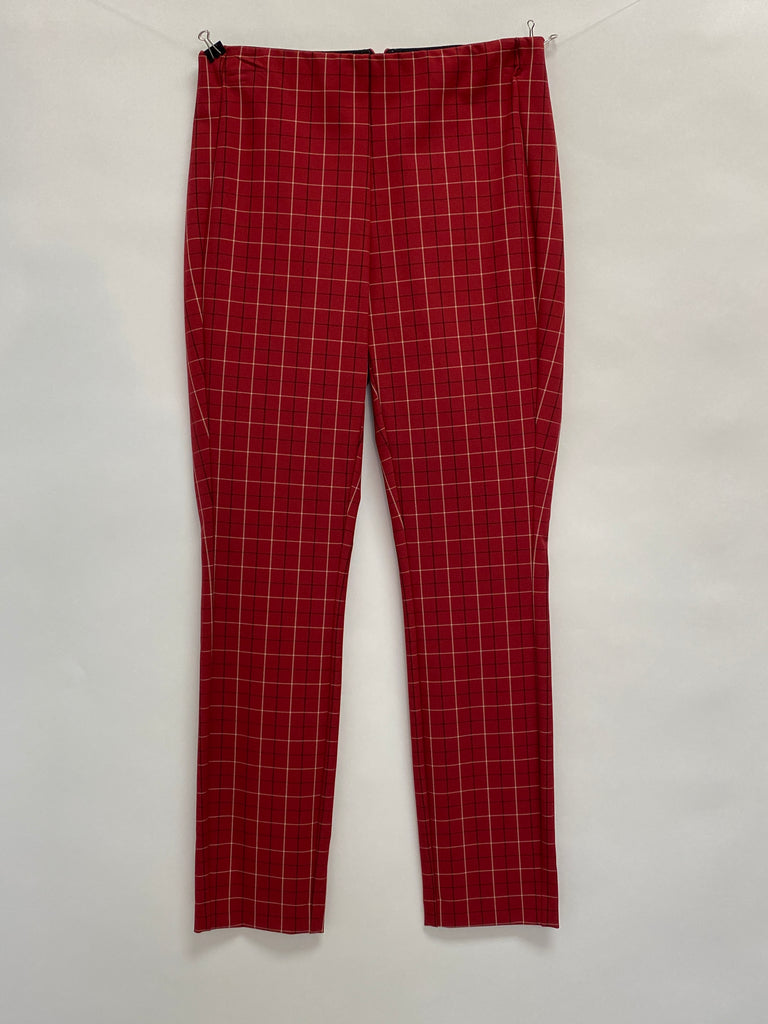 Rag and Bone: Red Check Simone Pant