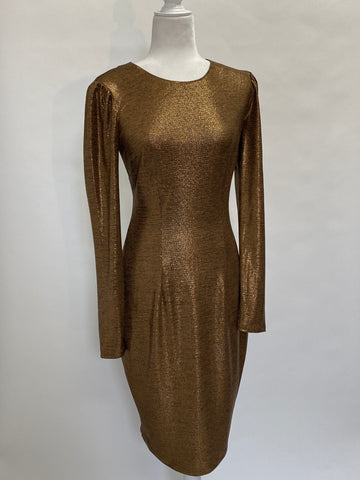 Zac Posen Gold Dress
