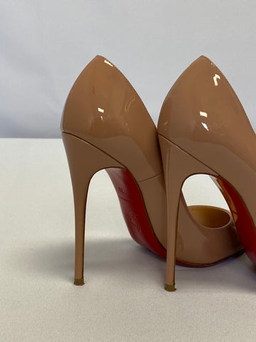 Christian Louboutin So Kate 120 Patent Nude