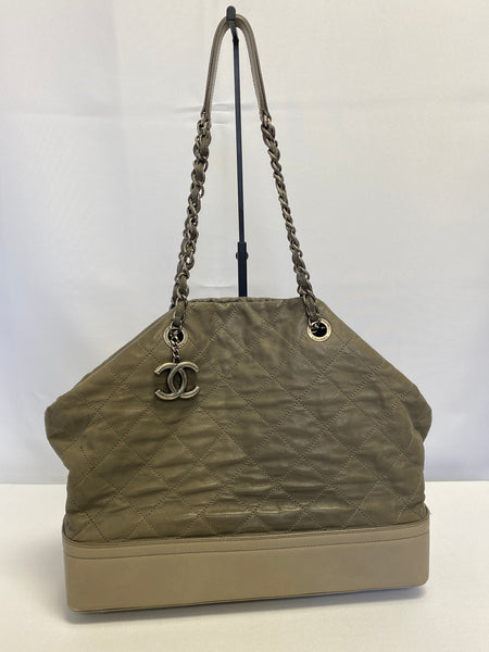 Chanel Grey Large Tote