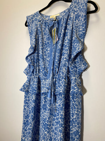 Michael Michael Kors Blue Floral Dress