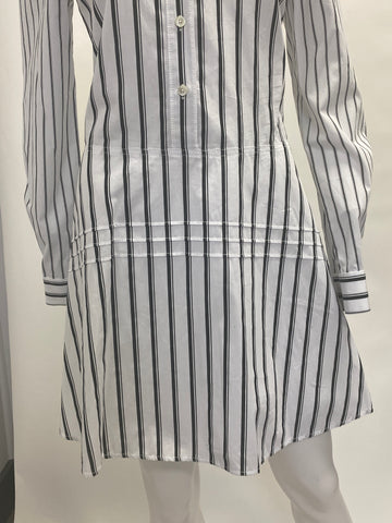 Derek Lam Striped Shirt Dress