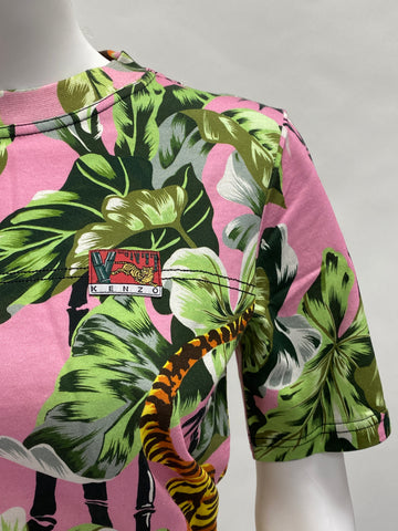 Kenzo Patis Pink Jungle T Shirt