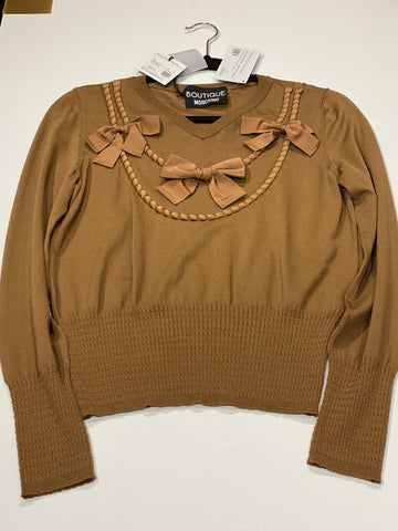 Boutique Moschino Bow Sweater