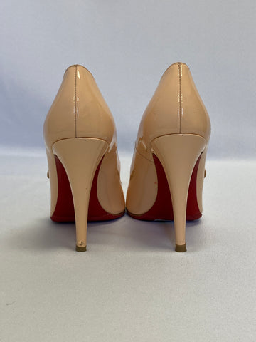 Christian Louboutin Nude Mary Jane Pump