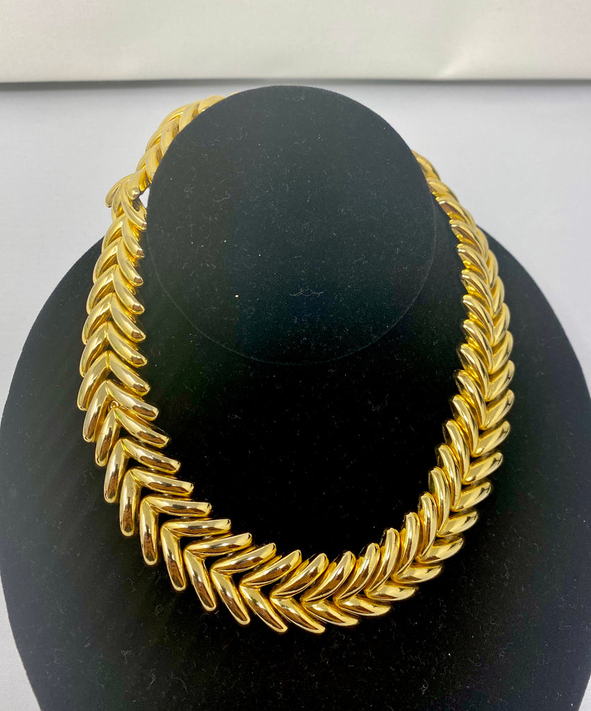 Vintage 60s Gold-Plated Choker