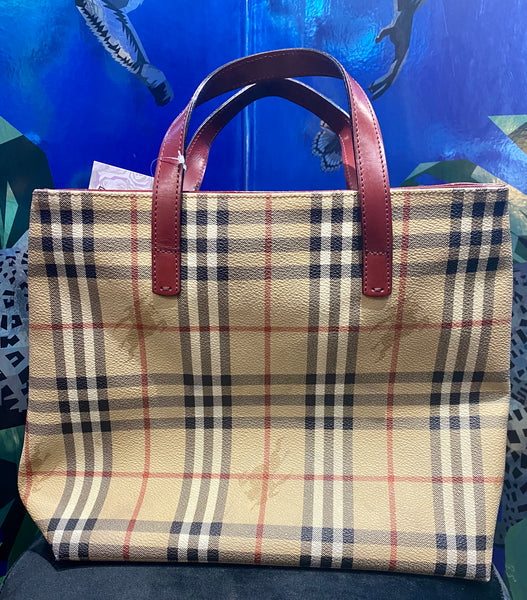 Burberry London Haymarket Check Mini Tote