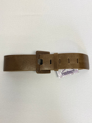 Oversized Square Buckle Belt