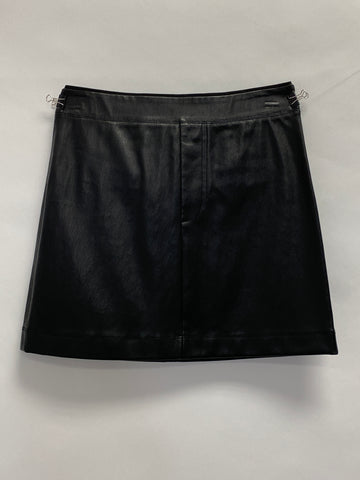 Helmut Lang StretchLeather Mini Skirt