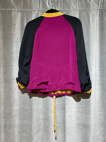 LAVEER Silk Full Zip Jacket