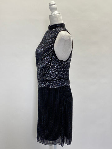 Parker Black Sequin Dress
