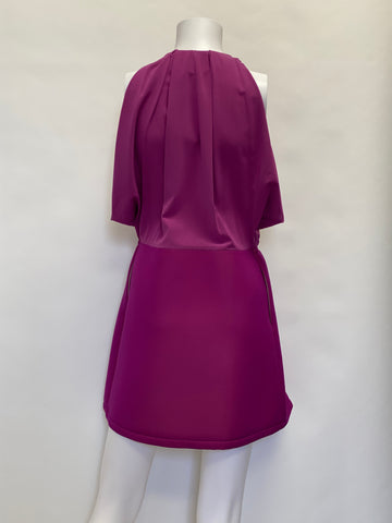 Balenciaga Paris Magenta Dress