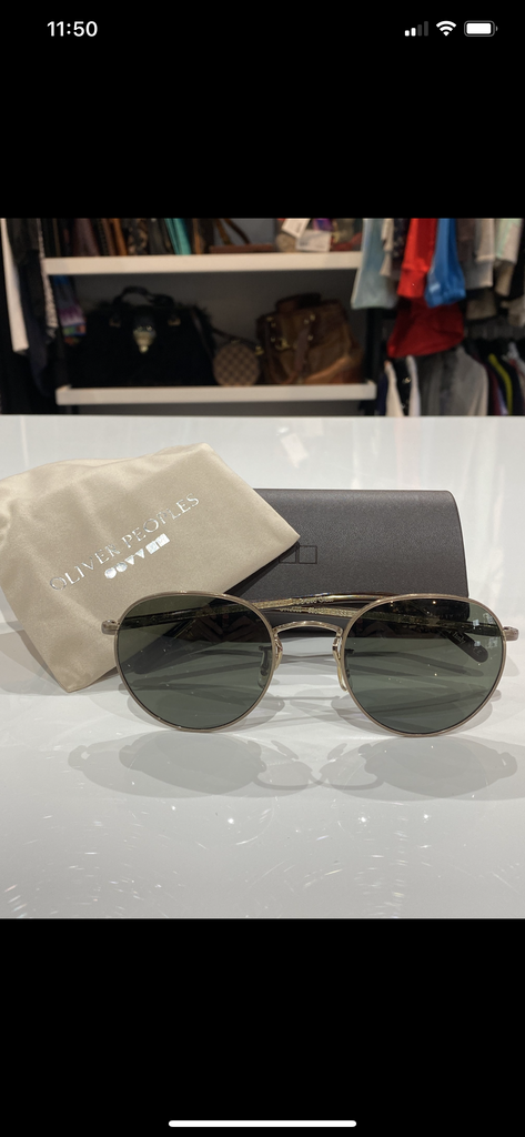 Oliver Peoples Hassett Sunglasses A