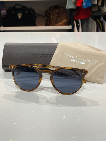 Oliver Peoples For the Row Sunglasses Tortoise