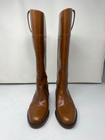 Michael Kors Leather Riding Boot