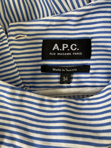 A.P.C Striped Shift Dress