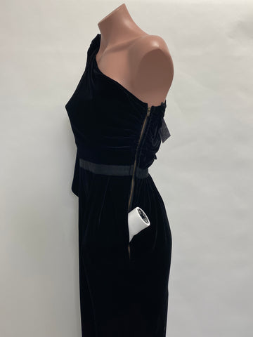Ulla Johnson One shoulder Velvet Jumpsuit