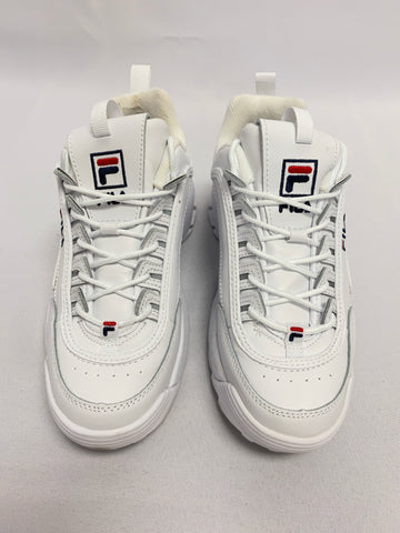 FILA 'Disrupter II' Whie Leather Sneaker