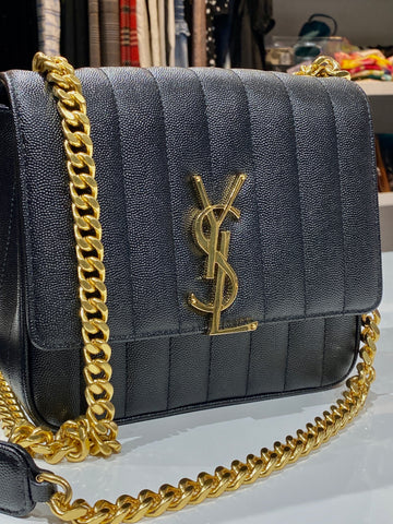 Yves Saint Laurent Medium Vicky Quilted Bag