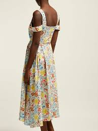 ISA ARFEN Long Day Positano Dress