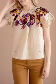 Ulla Johnson Rumi Top Natural
