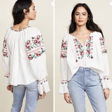 Ulla Johnson Devra Blouse