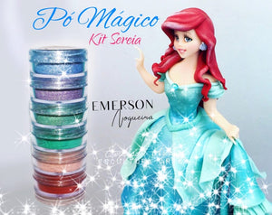 Emerson Noguiera® - Mermaid Kit - Powder Pigment