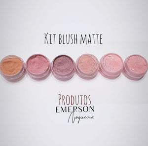 Emerson Noguiera® - Matte Blush Kit - Powder Pigment