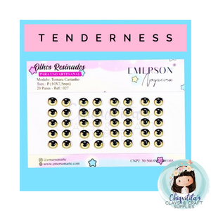 Emerson Noguiera® - Tenderness - Light Brown (P20)
