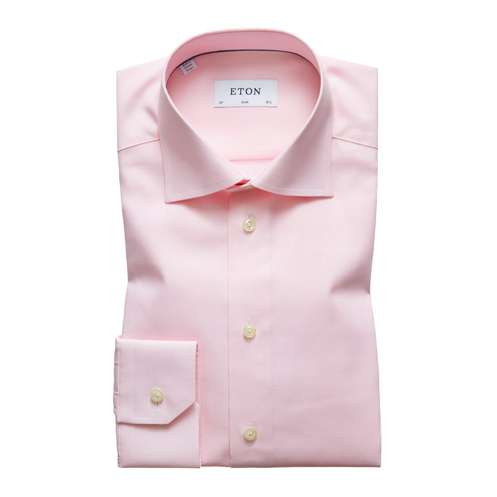 Eton Dried Rose Color Cotton Shirt