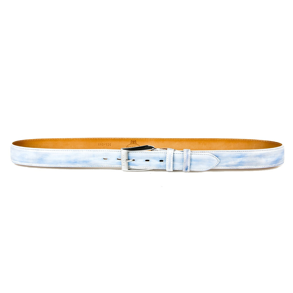 Harris Ice Blue White Belt