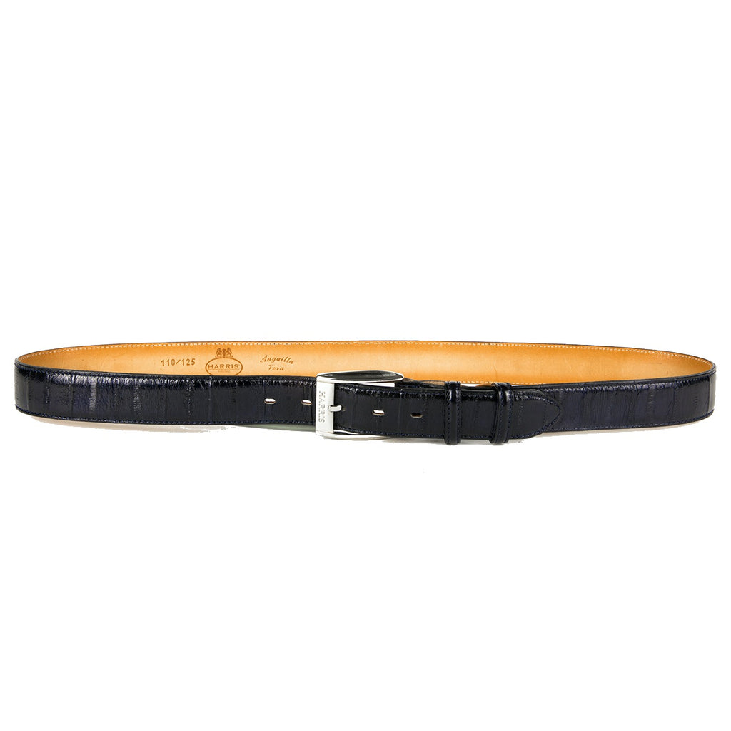 Harris Lacivert Water Snake Leather Belt