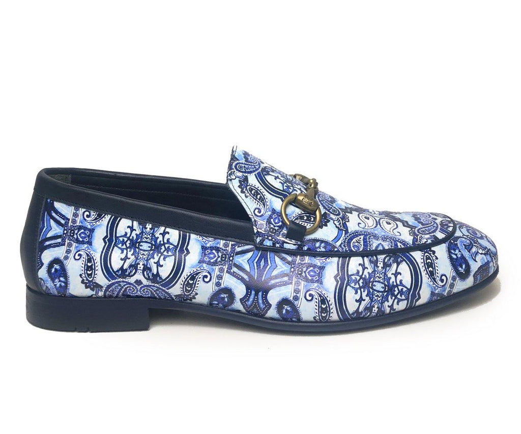 Enrico Marinelli Patterned Loafer