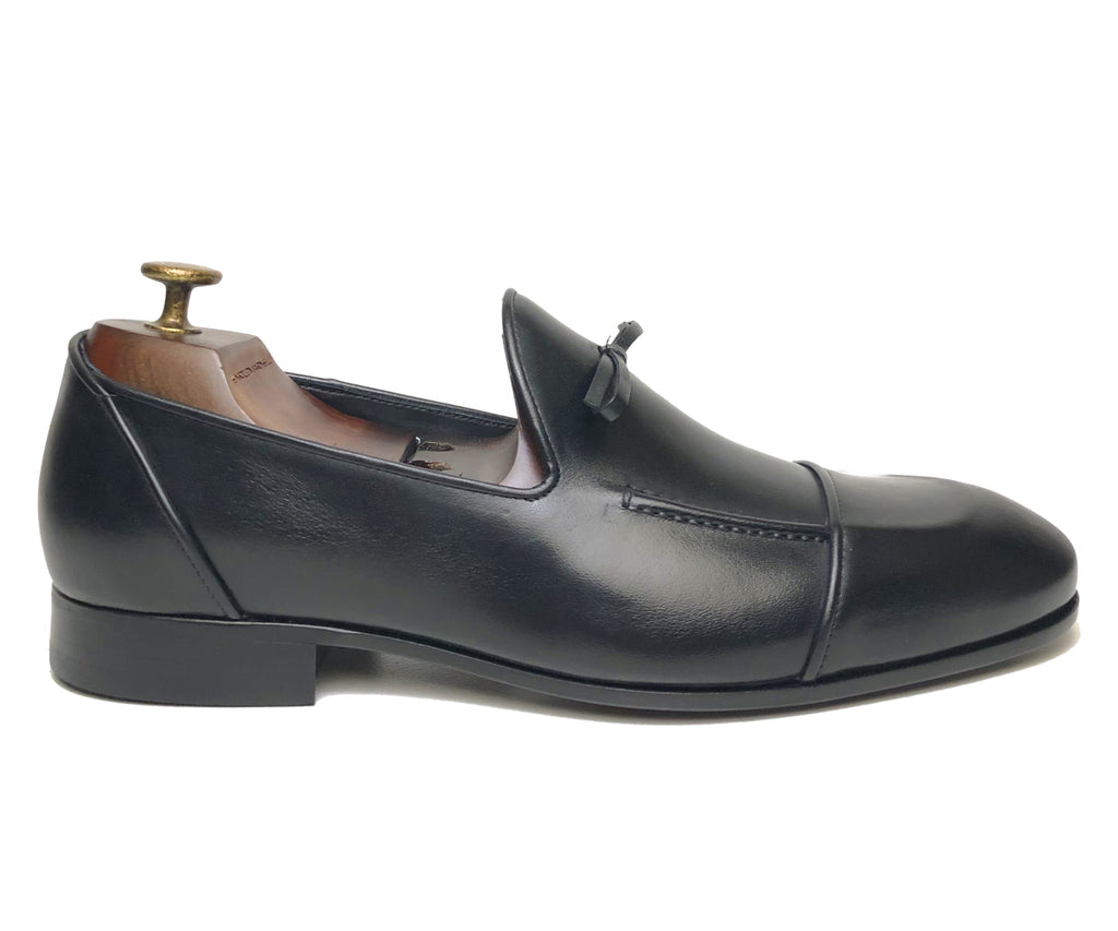 Black Loafer Enrico Marinelli