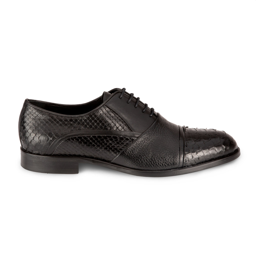 ENRICO MARINELLI BLACK CLASSIC SHOES