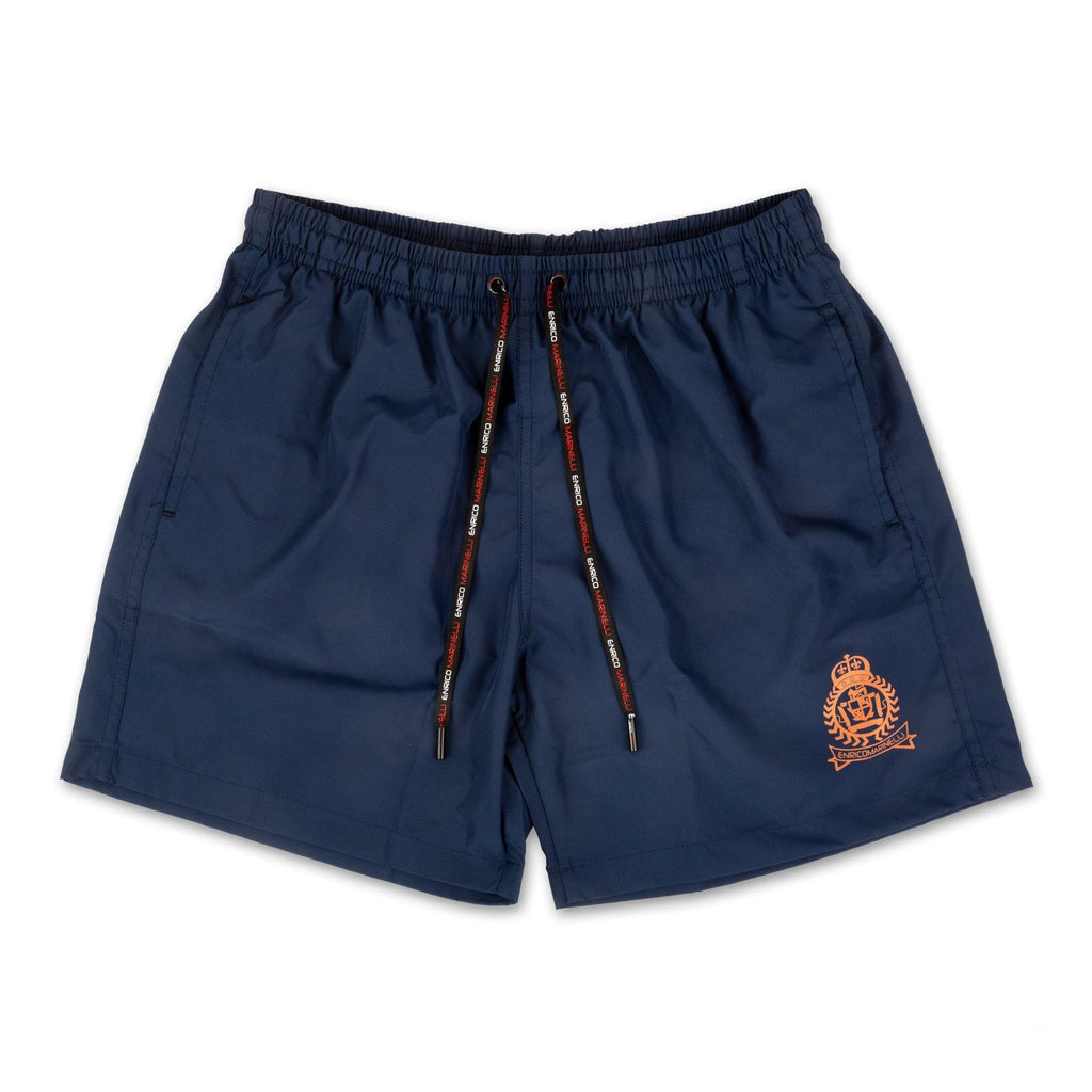 NAVY BLUE SHORTS SWIMSUIT WITH ENRICO MARINELLI