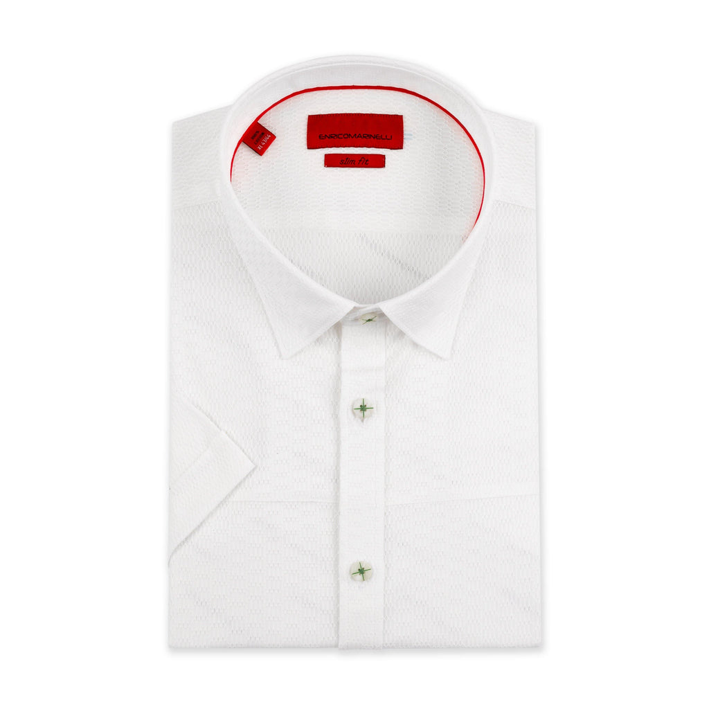 ENRICO MARINELLI SPORTS SHIRT WITH A MINIMUM SLEEVE