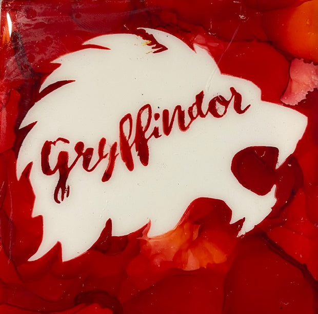 Griffindor House coasters