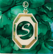 Slytherin House coasters