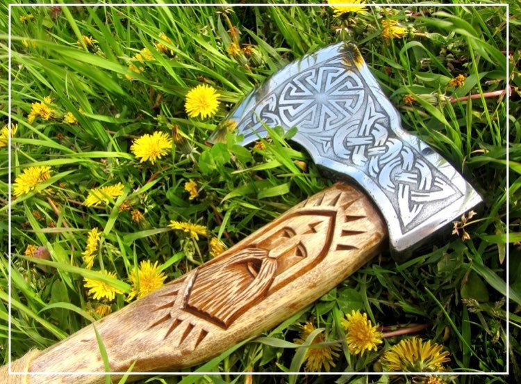 Viking axe handle