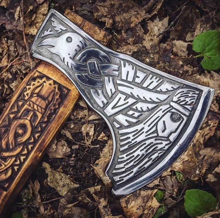 Viking axe odin
