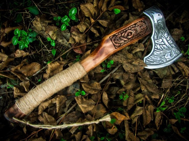 Viking war axe for sale