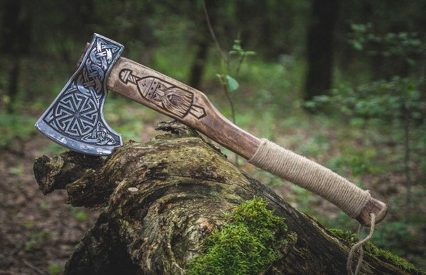 Odin viking axe