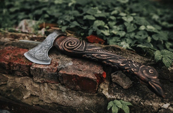 Viking axe replica