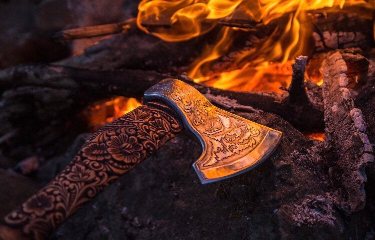 modern viking axe