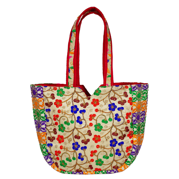 Indian Banjara Floral Shoulder Bag