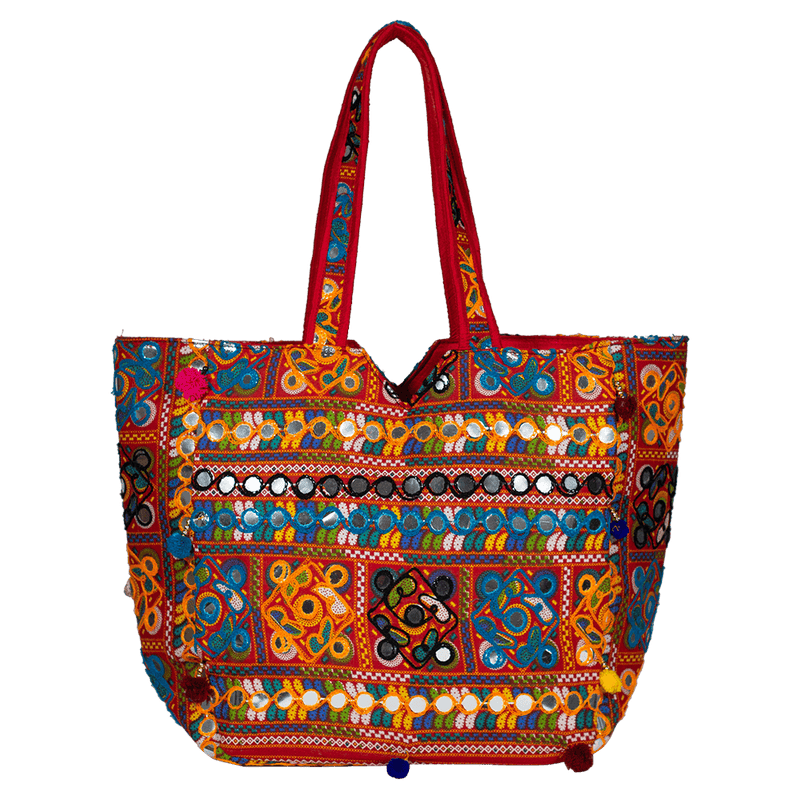 Rajasthani Mirror-work boho bag for women