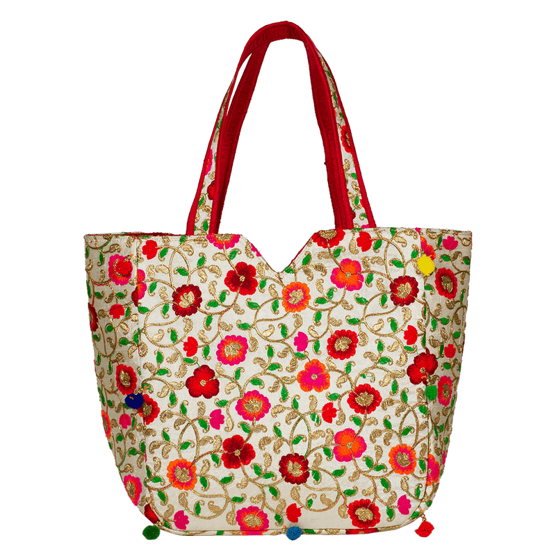 Floral Designed Bohemian handBag for Women